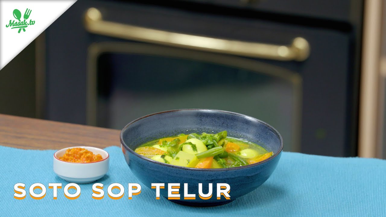 Resep Soto Sop Telur