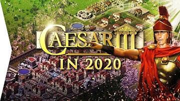 Caesar III in 2020! ► Fast Gameplay - Julius Open Source Port, Widescreen & Mods