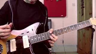 Shot By Both Sides - Magazine | Guitar Lesson | Complete Song + Solo