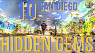 10 AMAZING Hidden Gems & Secret Spots in SAN DIEGO ! (MUST VISIT)