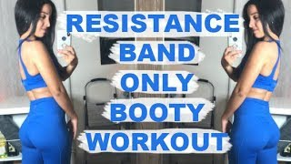 Resistance Band Only Booty Workout | At-Home Friendly!