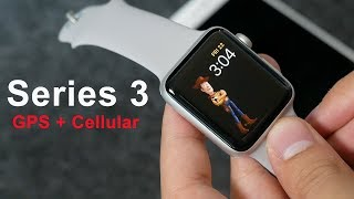 Apple Watch Series 3 GPS + Cellular Unboxing & Failed Setup