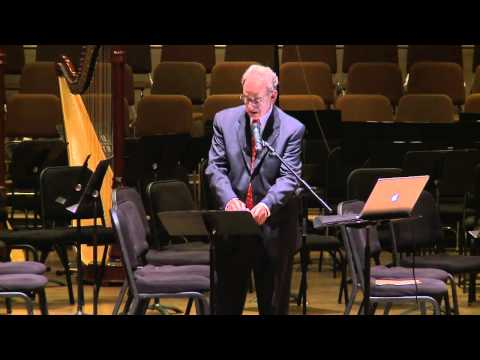Part 1: A Joyful Tribute to President Ruth J. Simmons | Pre-concert lecture, Prof David Josephson