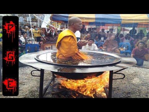 Increíbles proezas de los monjes Shaolin