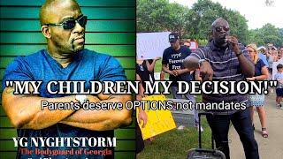 GA PARENTS DISMANTLE MASK MANDATE!