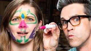 Sunscreen Face Paint Test