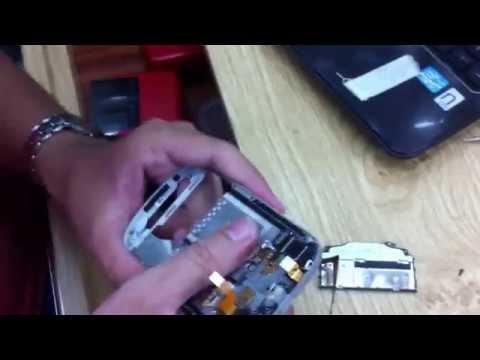 Thay màn hình Blackberry Q10 vàng Gold - [DIDONGCAOCAP.VN]
