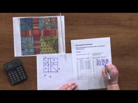 How to Change the Size of Quilt Blocks  | National Quilter's Circle