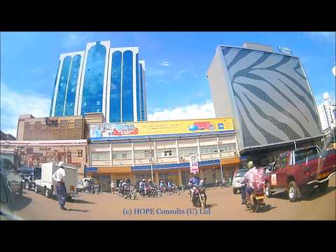 Amazing Kampala Drive from Entebbe Road to Wandegeya via Nakasero