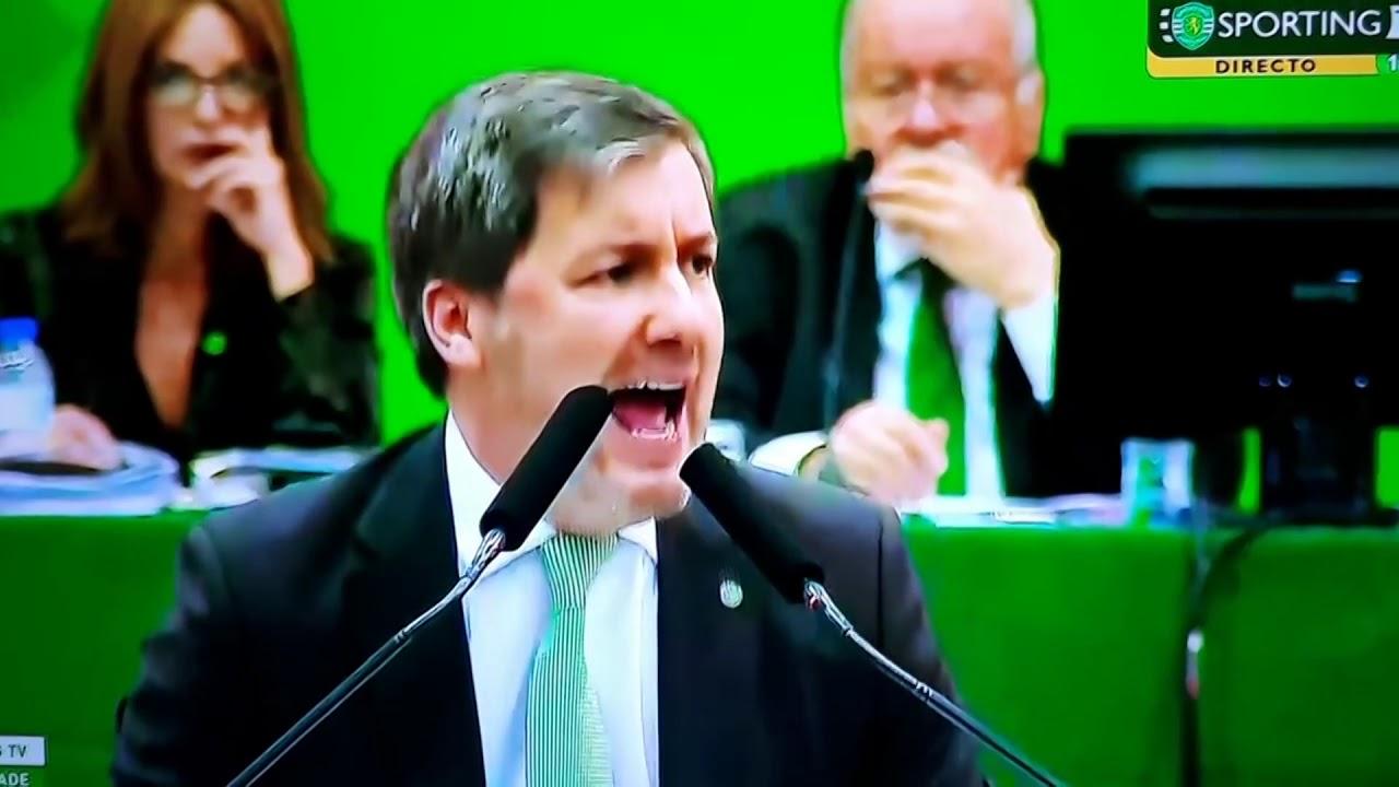 Bruno De Carvalho Na AG