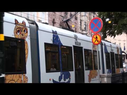 If Graffiti was legal - Graffiti Tram - ABBA Pop Cats @ Stockholm, Sweden, The Abba museum