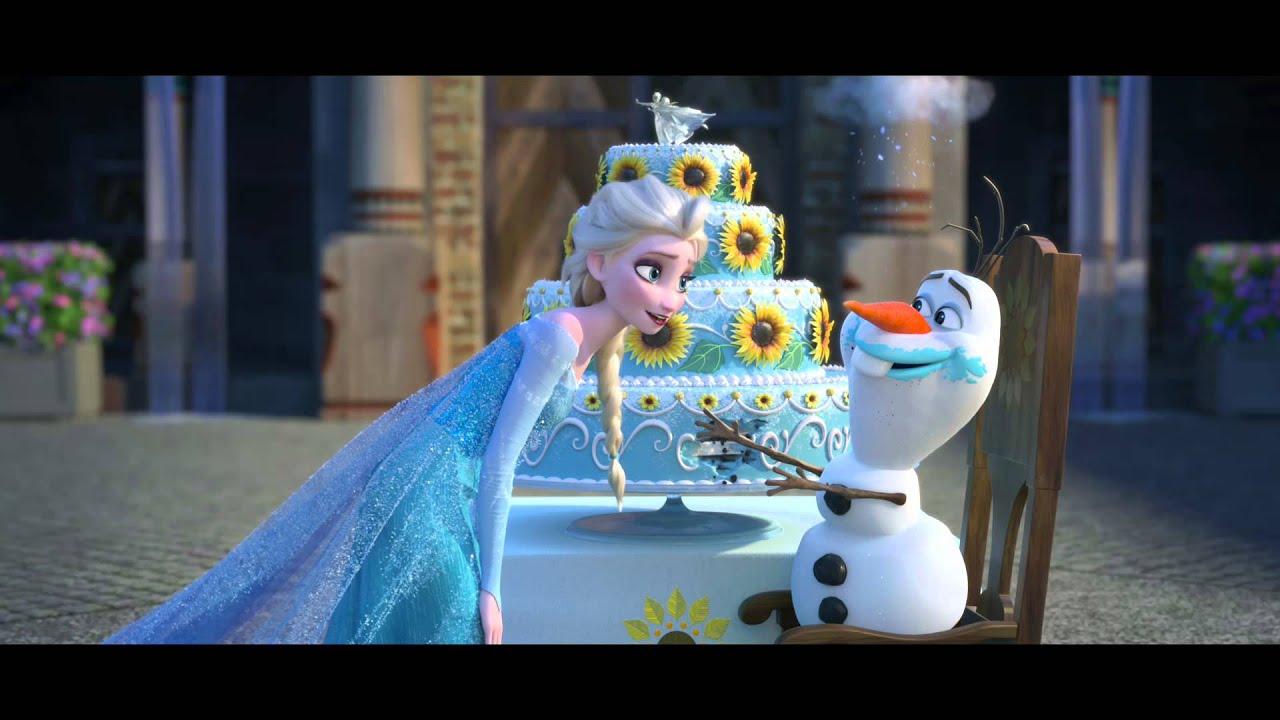 frozen fever trailer  الإعلان الترويجي لفيلم ملكة الثلج