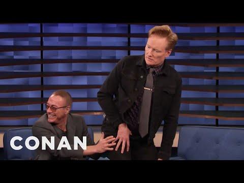 Jean-Claude Van Damme Thinks Conan Has A Nice Butt