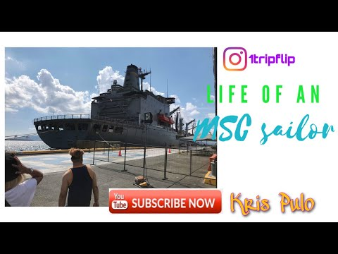 Life of an MSC sailor/ Military Sealift Command/Instagram story compilations/Pinoy Vlogs