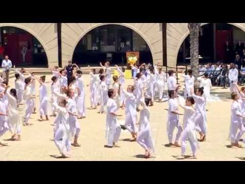 UCSB Dance Tribute at Commemoration Ceremony for 2nd Anniversary of Isla Vista Shooting