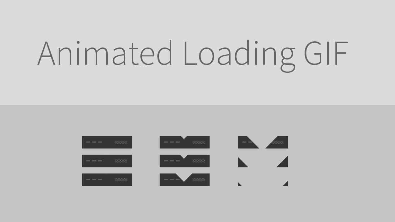 Design an animated loadingdownload icon gif youtube negle Choice Image