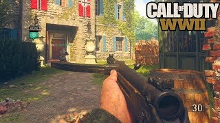 CALL OF DUTY WW2 INSANE BETA GAMEPLAY! (COD WW2 MULTIPLAYER GAMEPLAY)