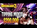 What Happens If You Tip Moxxi $200,000 in Borderlands 3?