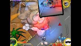Police Destruction Street PC 2008 Gameplay