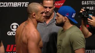 Fight Night Fortaleza: Belfort vs Gastelum - Weigh-in Faceoff