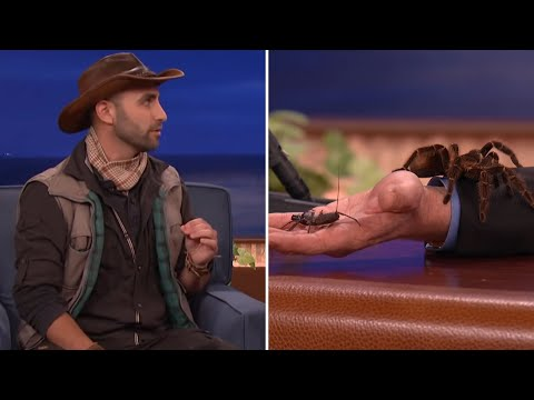 Thumbnail: Coyote Peterson Introduces Conan And Jeff Goldblum To Some Creatures - CONAN on TBS