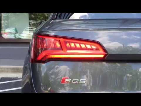 2018 audi q5 dynamic turn signal demo youtube. Black Bedroom Furniture Sets. Home Design Ideas