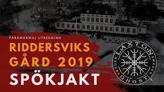 SPÖKJAKT STOCKHOLM - RIDDERSVIKS GÅRD