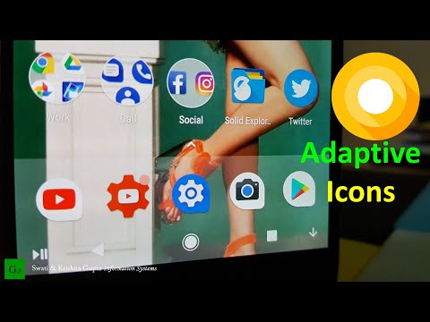 Android O 8 0 Adaptive Icons Features on any Android Device (No Root,  Android 5 0+)