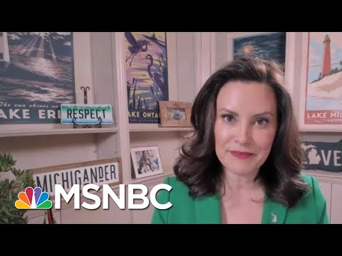 Gov. Whitmer On Warning Against Potential Violence: 'Nobody Did A Darn Thing' | MTP Daily | MSNBC