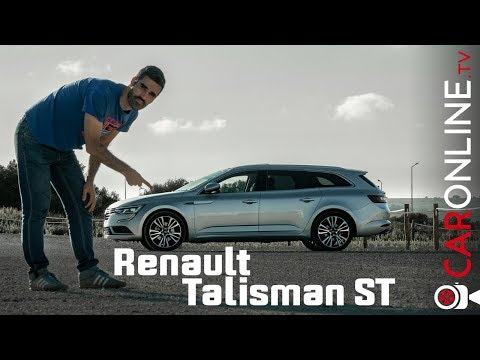Renault Talisman Sport Tourer a CARRINHA mais PEQUENA do MERCADO [Review Portugal]