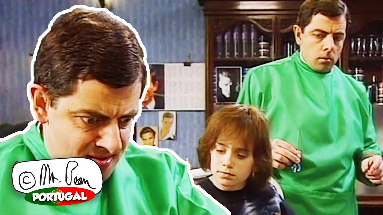 Mr. Bean, o Cabeleireiro | Episódio 14 | Mr Bean Episódios Completos | Mr Bean Portugal