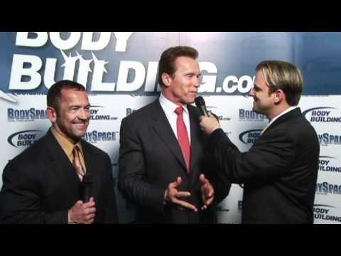 Lee Labrada and Arnold Schwarzenegger