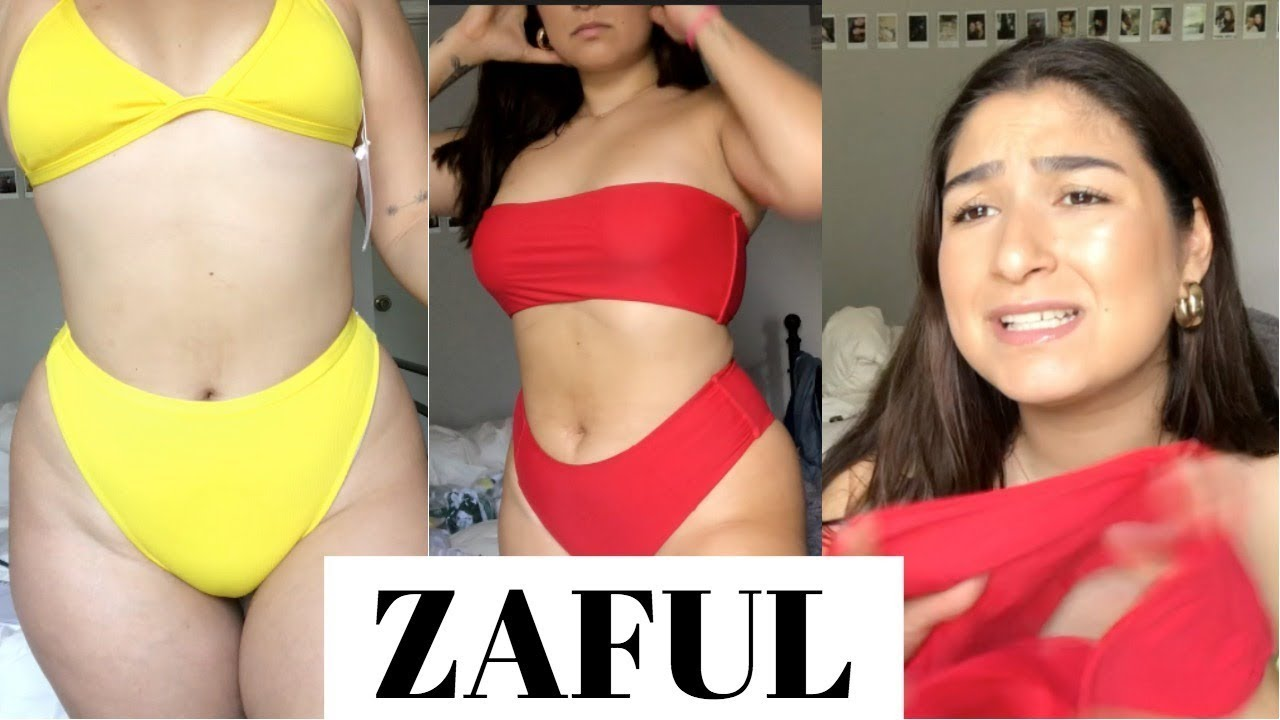 51c141f54c ZAFUL FOR CURVY GIRLS!? BIKINI TRY-ON HAUL - YouTube