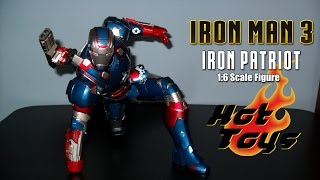 Hot Toys Iron Man 3 Iron Patriot 1/6th Scale Figure Review