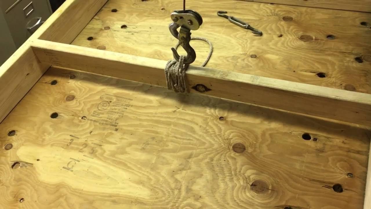 The Ultimate Plywood Storage Rack
