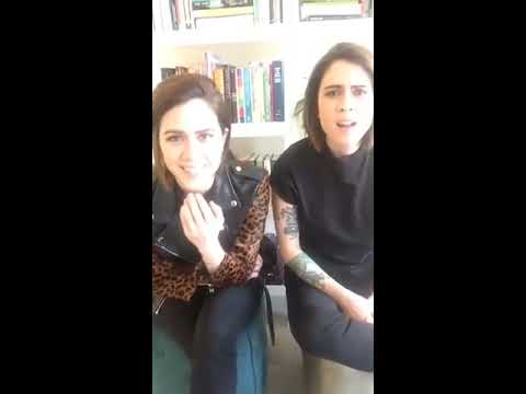 Tegan and Sara: Christmas Periscope
