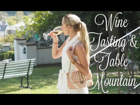 South Africa Travel Vlog  |   Table Mountain & The Winelands   |   Fashion Mumblr