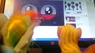 RainbowDash and Applejack React to APPLE.MOV