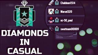 REAL DIAMONDS IN CASUAL  -Rainbow Six Siege Montage