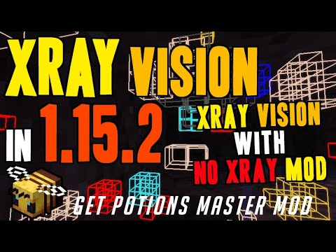 How To Get X Ray Vision In Minecraft 1.15.2 - Download & Install Potions Master 1.15.2 (on Windows)