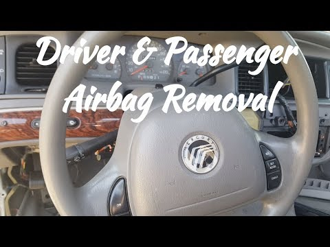 1998-2002 Mercury Grand Marquis Airbag Removal