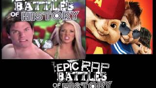 Adam vs Eve. Epic Rap Battles of History Season 2 CHIPMUNKS / CHIPETTES version