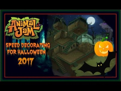 Download Animal Jam: Speed Decorating For Halloween 2017!