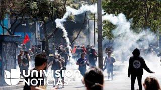 """Mueren 11 personas en las protestas de Chile y el presidente dice """"estamos en guerra"""""""