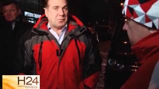 Глава города проехал по улицам с проверкой уборки снега