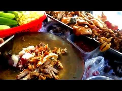 Asian Travel - Phnom Penh Street Lifestyles And Food - Youtube