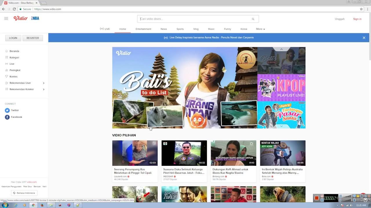 Cara Download Vidio com - YouTube