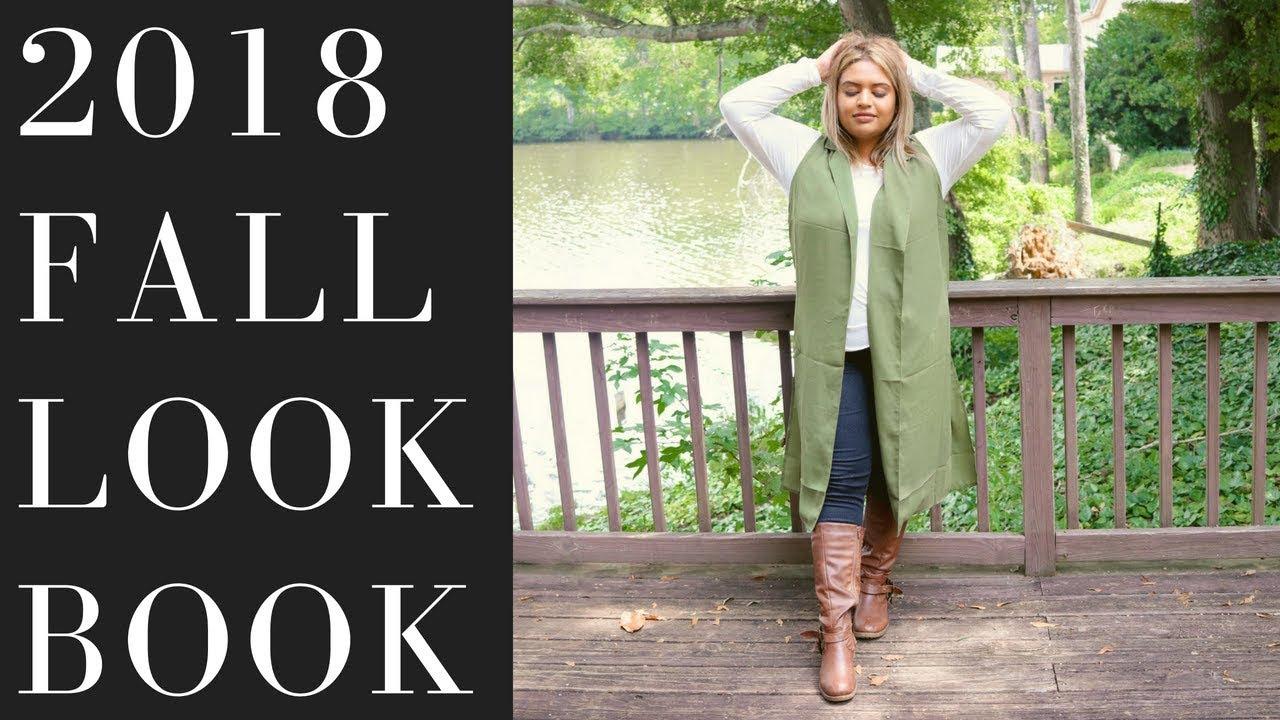 b16baa612056d Plus size fashion  2018 Fall Lookbook - YouTube