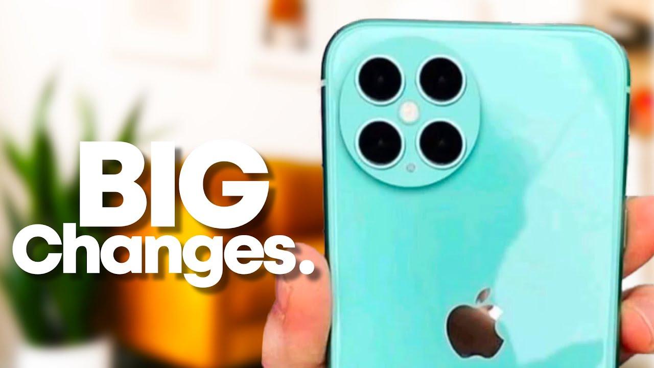 iPhone 13: Big Changes