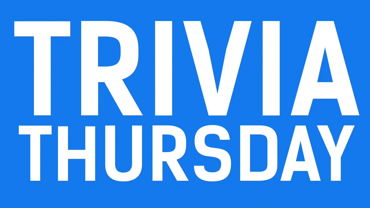 Image result for trivia thursday